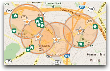 Find a Home within 1/2 mile of Silver Line stations