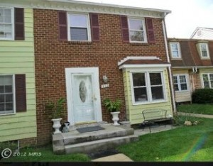 Townhome for sale in Fairfax, VA