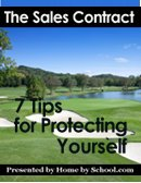 The Sales Contract - 7 Tips for Protecting Yourself