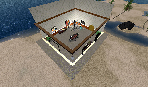Picture of a virtual home