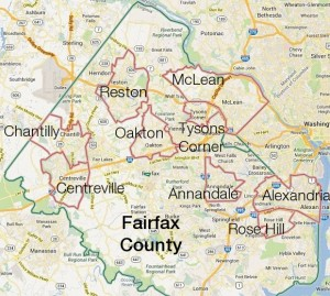 Top 9 Cities in Fairfax County