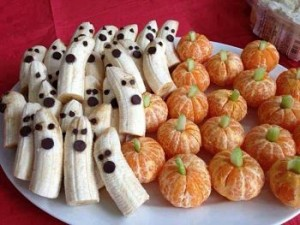 Spooky fruit provides a variation in texture