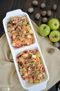 Traditional Mexican Christmas Apple Salad